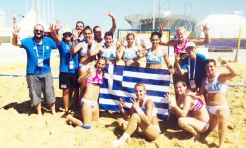 Beach Handball - Προελαύνει η Εθνική Γυναικών Νίκησε 2-0 σετ (22-14 & 20-10) την Ταϊπέι στο Παγκόσμιο Πρωτάθλημα Beach Handball