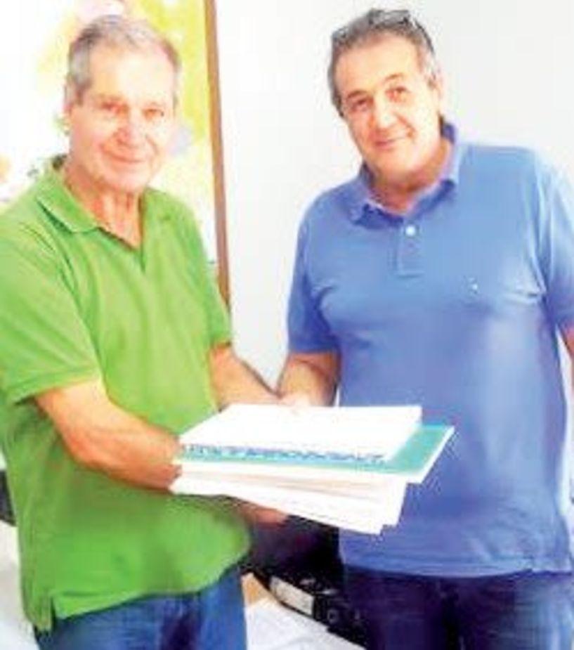 Παραδόθηκαν τα βιβλία και το ταμείο στη νέα διοίκηση του ΓΑΣ Βέροια