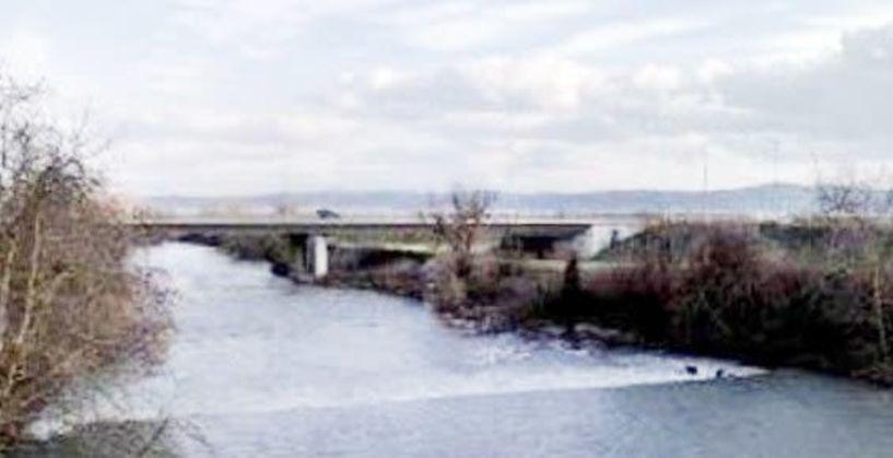 Στα σκοτάδια η Γέφυρα του 66  μετά το Μακροχώρι