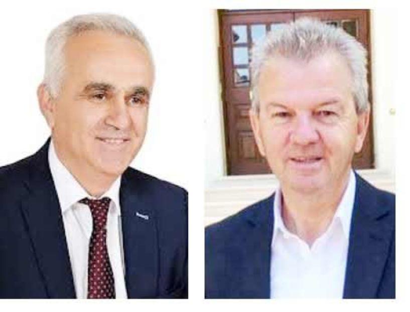 Μουρτζίλας  και Νεστορόπουλος,  οι εντεταλμένοι Περιφερειακοί σύμβουλοι σε Υγεία και Μεταφορών, αντίστοιχα