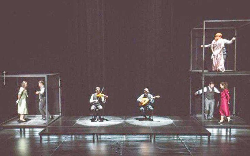 Το Σάββατο 18 Ιανουαρίου Στους ανομολόγητους, ανεκπλήρωτους έρωτες και  τους καημούς του, εστιάζει η μουσικοχορευτική  παράσταση «Γκρίζος Έρωτας», στο Χώρο Τεχνών