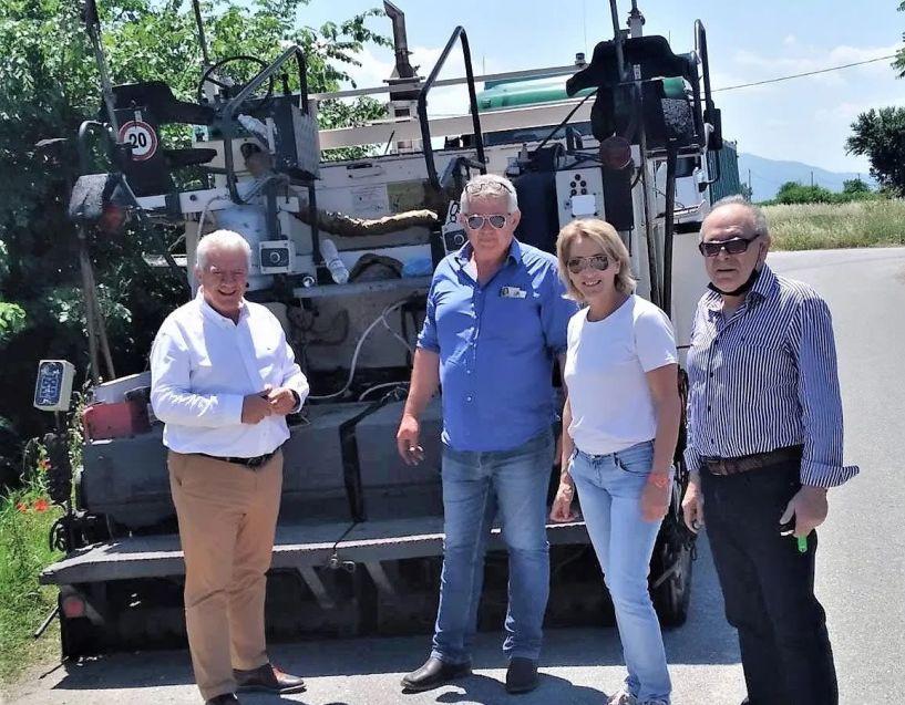 Δήμος Αλεξάνδρειας: Συνεχίζονται οι εργασίες βελτίωσης του οδικού δικτύου