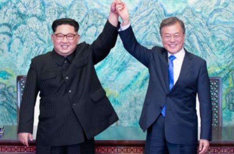Ιστορική συμφωνία ειρήνης ανάμεσα σε Βόρεια και Νότια Κορέα