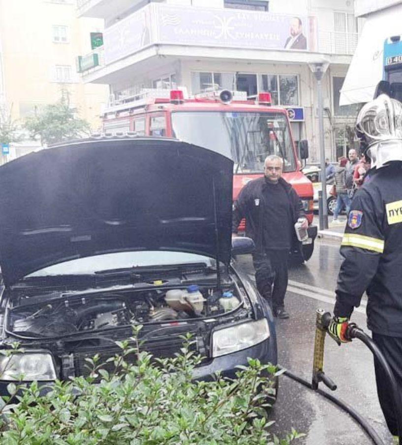 Αυτοκίνητο ακινητοποιήθηκε χθες το μεσημέρι  στην Βενιζέλου