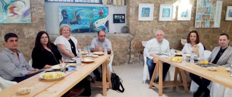 Ο Φώτης «έφερε» στη Βέροια τους προέδρους των δικηγορικών συλλόγων της περιφέρειας του Εφετείου Θεσσαλονίκης
