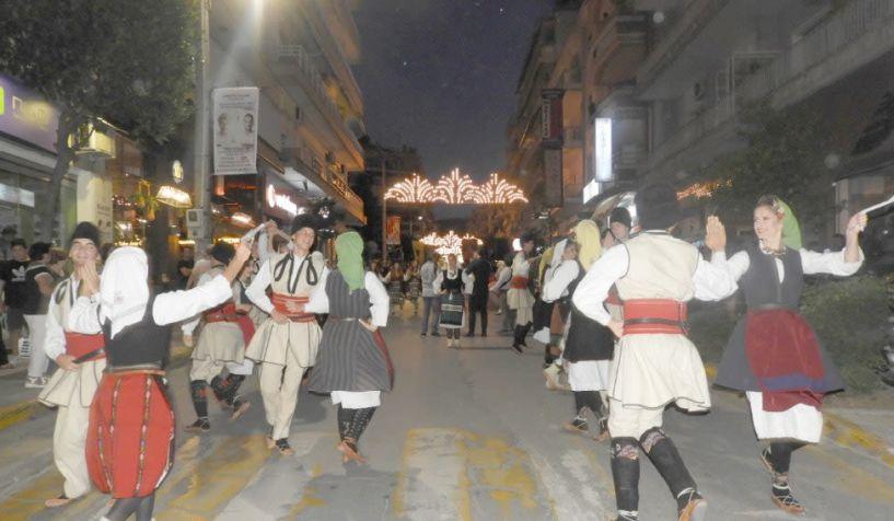 Στους ρυθμούς της παράδοσης από χθες ο Δήμος Βέροιας με το 3ο Φεστιβάλ Παραδοσιακών Χορών (φωτο έναρξης)