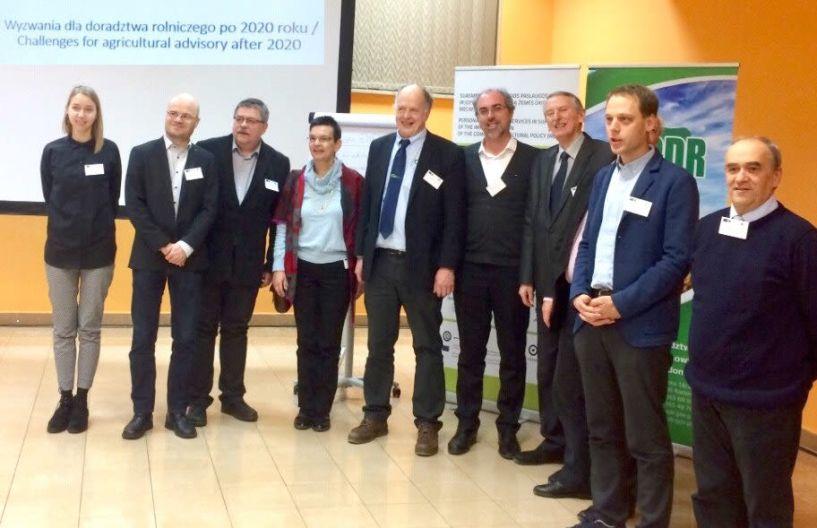 Η GAIA ΕΠΙΧΕΙΡΕΙΝ  νέο μέλος του πανευρωπαϊκού  δικτύου δημόσιων  και ιδιωτικών δομών παροχής  γεωργικών συμβουλών