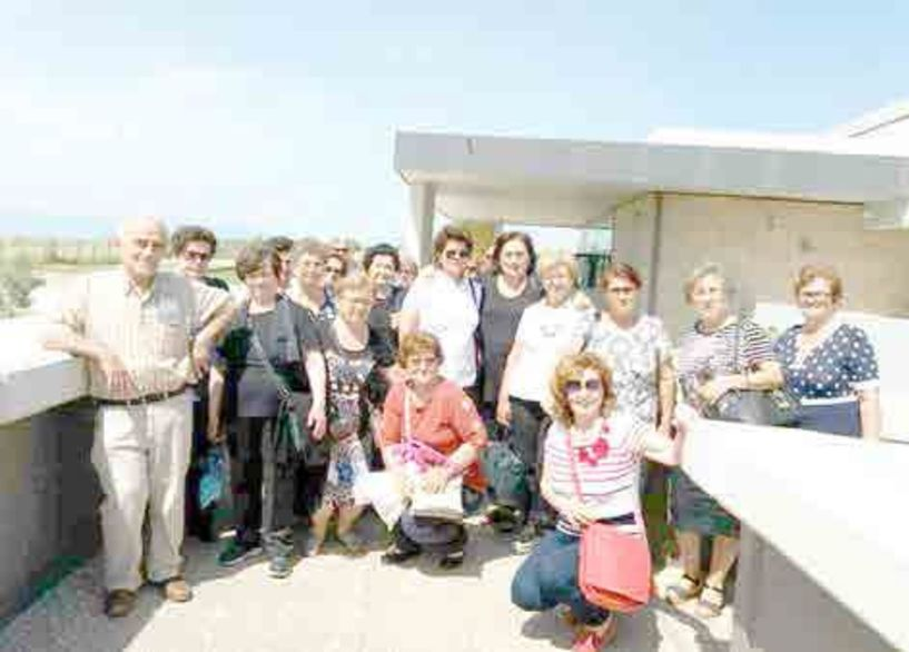 Την Αρχαία Πέλλα επισκέφθηκε   το ΚΑΠΗ   Δήμου Βέροιας