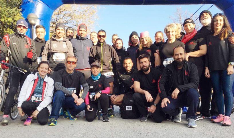 Με πολυπληθή ομάδα συμμετείχε το Makridis team στον 7ο Φιλίππειο Δρόμο