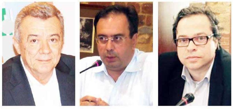 Π. Γκυρίνης, Κ. Βοργιαζίδης και Α. Μαρκούλης στο νέο Δ.Σ. της ΠΕΔ Κ. Μακεδονίας