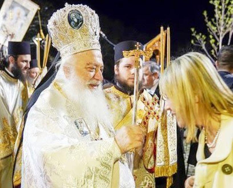 Θα επιθυμούσε να ξαναπεί το «Χριστός Ανάστη»  στη Βέροια η Κατερίνα Παπακώστα