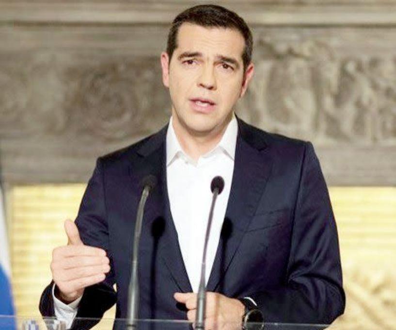 """Διπλωματική νίκη χαρακτήρισε ο Αλέξης Τσίπρας  τη συμφωνία για την ονομασία """"Βόρεια Μακεδονία""""  της ΠΓΔΜ"""
