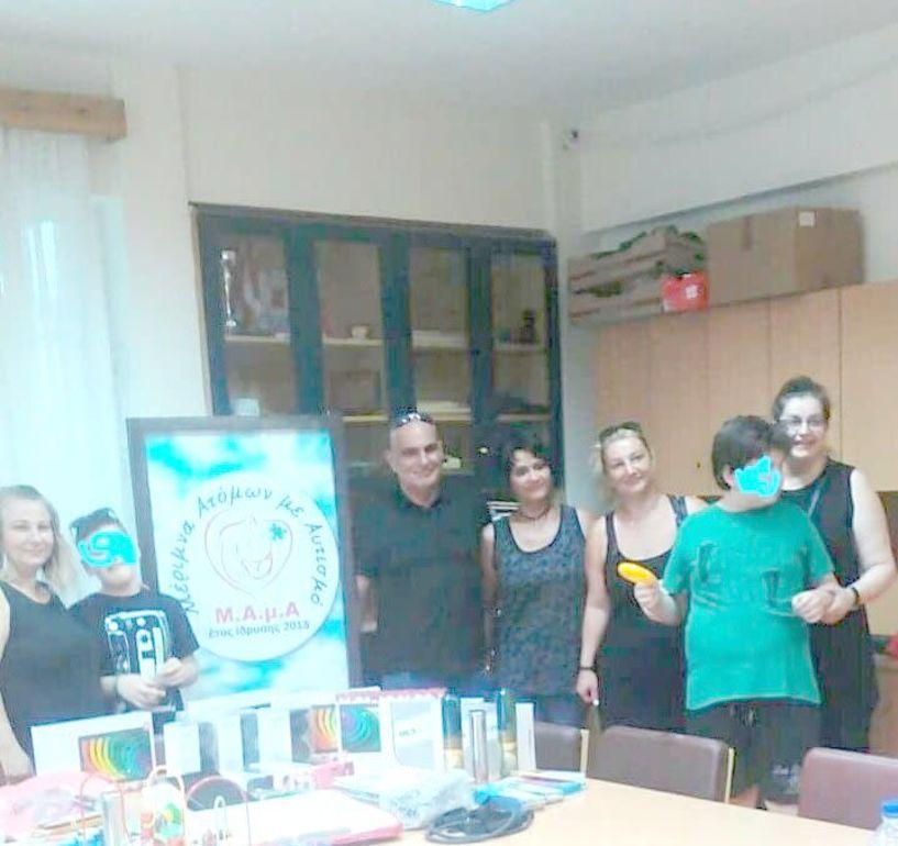 Η  Γερμανο-Ελληνική εταιρεία του Φλενσμπουργκ για δεύτερη χρονιά στο πλευρό της  ΜΑμΑ (Μέριμνα Ατόμων με Αυτισμό)
