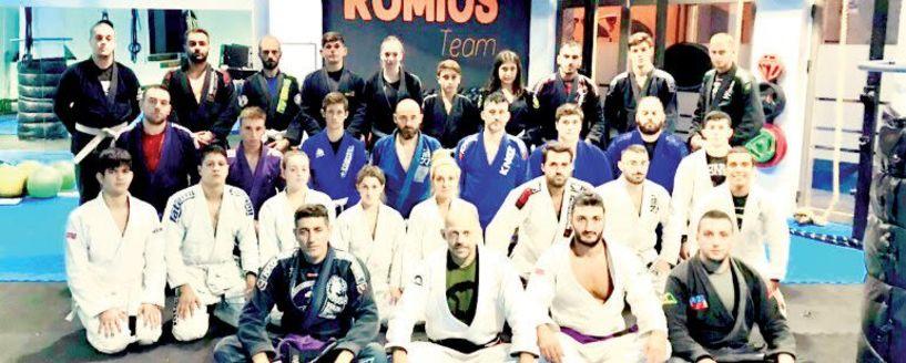 Σεμινάριο Brazilian Jiu-Jitsu στον  ΑΣ Ρωμιό