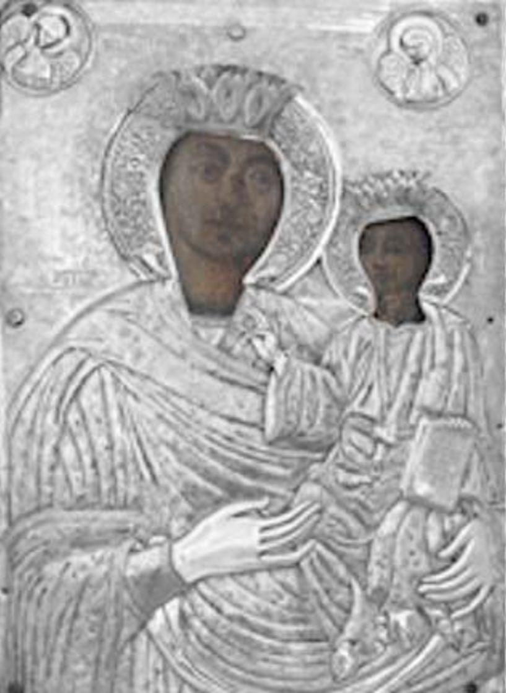 Την Ιερά Εικόνα της Παναγίας από την Ι.Μ Πέτρας Ολύμπου, υποδέχεται ο Ι.Ν. Αγίου Γεωργίου Νάουσας