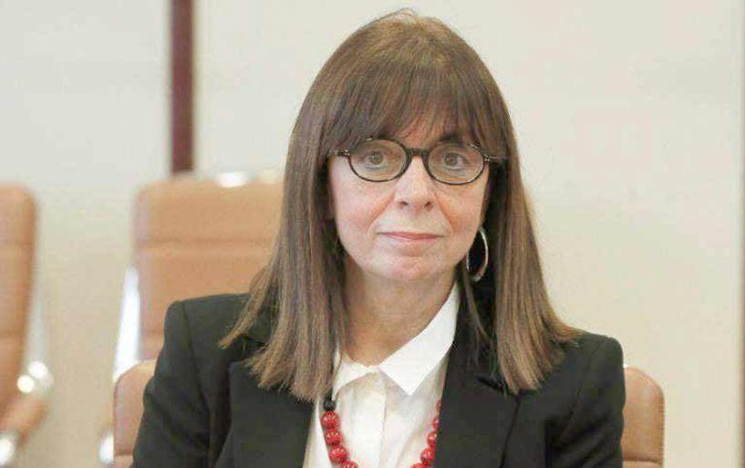 Αικατερίνη Σακελλαροπούλου - Η πρώτη γυναίκα υποψήφια για Πρόεδρος της Δημοκρατίας με πρόταση Μητσοτάκη