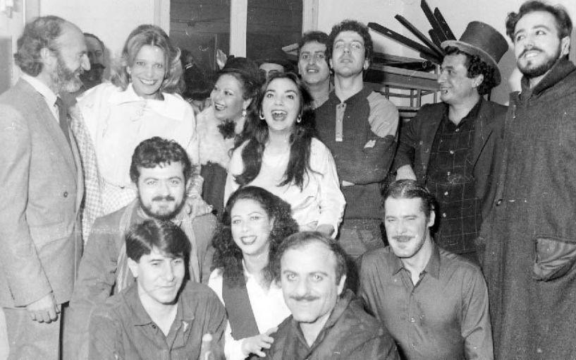 Η Μελίνα Μερκούρη στο ΔΗΠΕΘΕ Βέροιας, το 1984