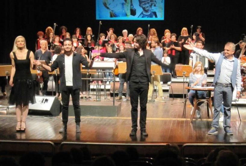 Η Βέροια τίμησε τη μουσική παράσταση του «Μονογράμματος»,  για τον Όμιλο Προστασίας Παιδιού
