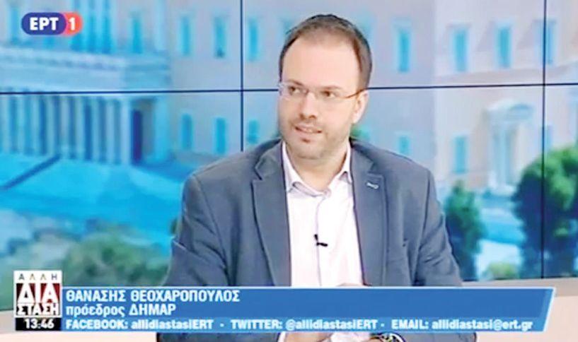 """Θανάσης Θεοχαρόπουλος για το """"εθνίκια"""" του Καρανίκα: «Ντροπιαστική η δήλωση, θα έπρεπε να μετράει  τις εκφράσεις του»"""