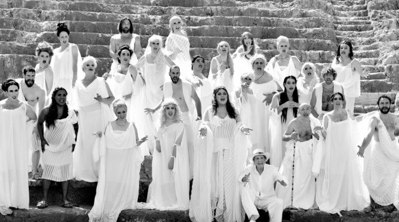 Στις 16 και 17 Ιουλίου «Εκκλησιάζουσες» του Αριστοφάνη από  τον Αλέξανδρο Ρήγα σε Βέροια και Αλεξάνδρεια