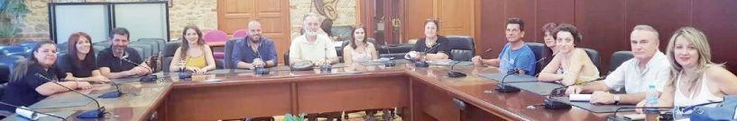 Ενημερωτική συνάντηση φορέων για τις παραστάσεις  του ΔΗ.ΠΕ.ΘΕ Βέροιας «Εις τους πέντε δρόμους!»