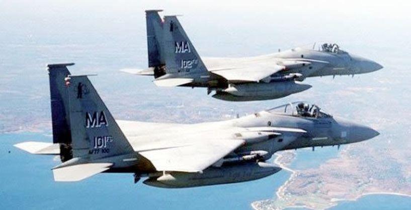 Χαμηλή πτήση δύο μαχητικών πάνω από την Βέροια χθες το πρωί