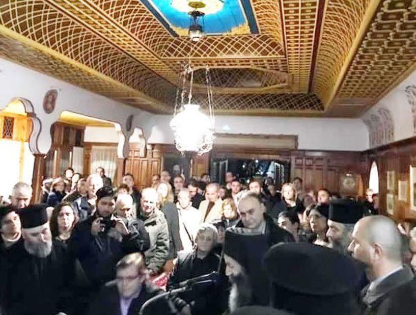 Εγκαινιάστηκε το νέο Αρχονταρίκι στη Μονή Καλλίπετρας