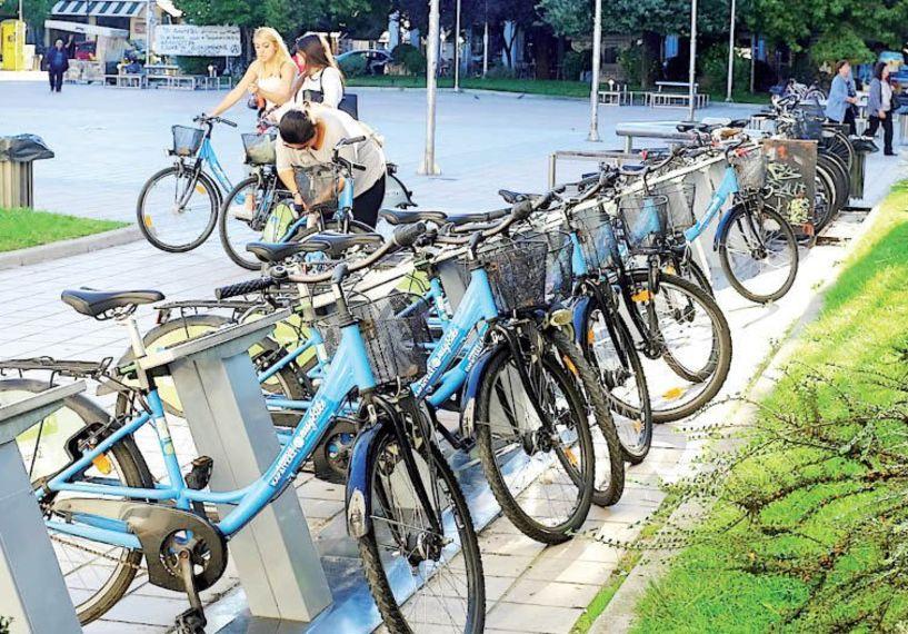 Πιο πολύ ποδήλατο στη πόλη