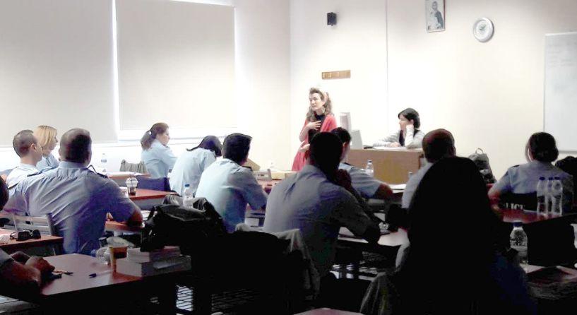 Ενημερωτική εκδήλωση στην Αστυνομική   Ακαδημία Βέροιας για την ενδοοικογενειακή βία 18/5