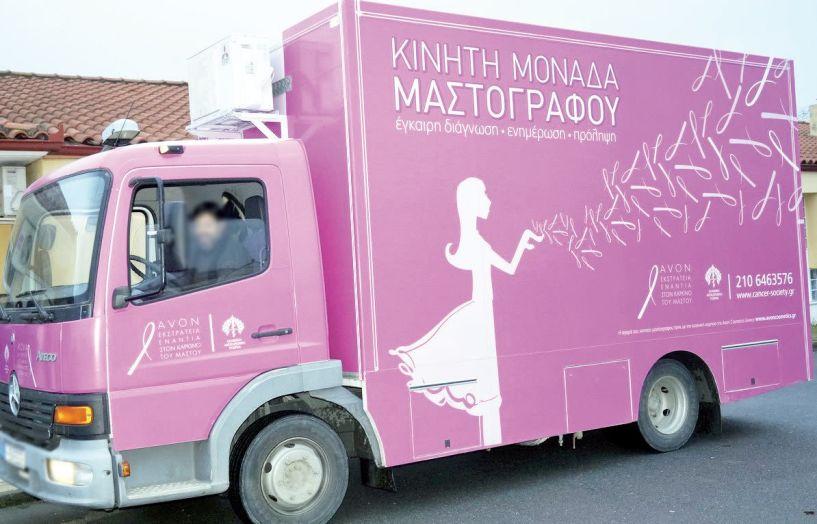Καλύφθηκαν κατά 95% τα ραντεβού των ωφελούμενων γυναικών για δωρεάν μαστογραφία  στην Πλατεία Δημαρχείου