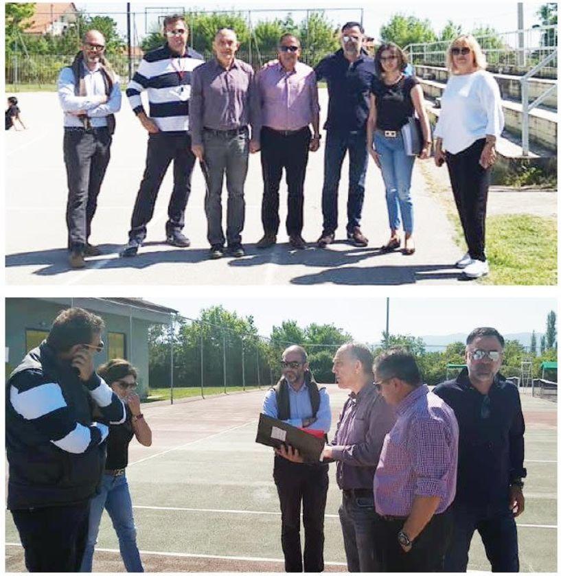 Ξεκινά το έργο της ανακατασκευής των γηπέδων tennis στο ΔΑΚ Βεροίας