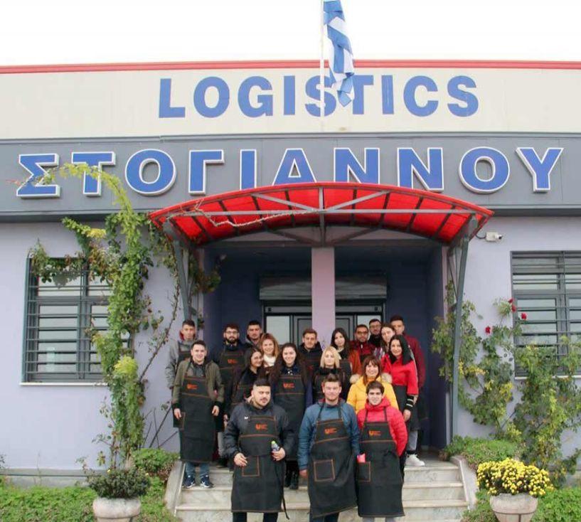 Εκπαιδευτική επίσκεψη του ΙΕΚ Βέροιας στην STOGIANNOS Logistics