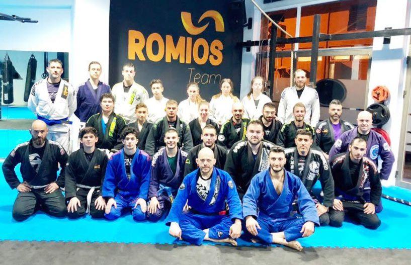 Διήμερο σεμιναρίων Brazilian Jiu-Jitsu για τον ΑΣ Ρωμιό