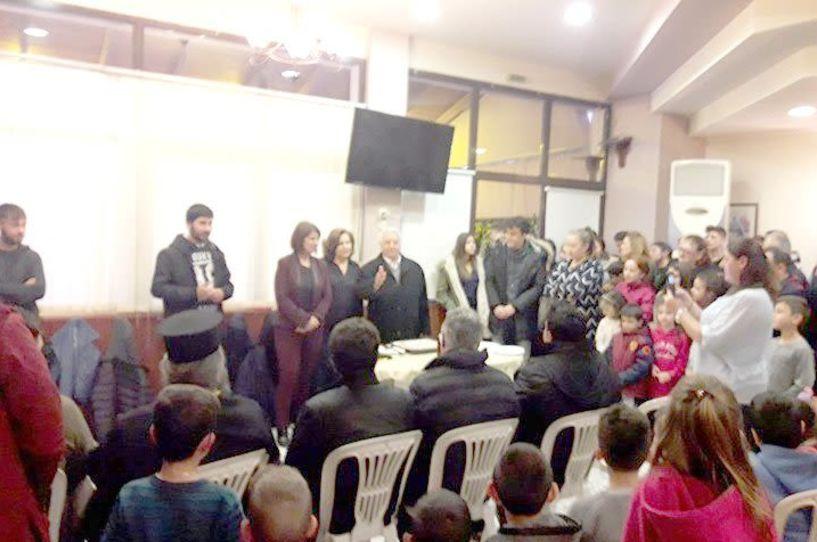 Ο Λαογραφικός Σύλλογος Ντόπιων Μακροχωρίου και Περιχώρων έκοψε την πίτα του