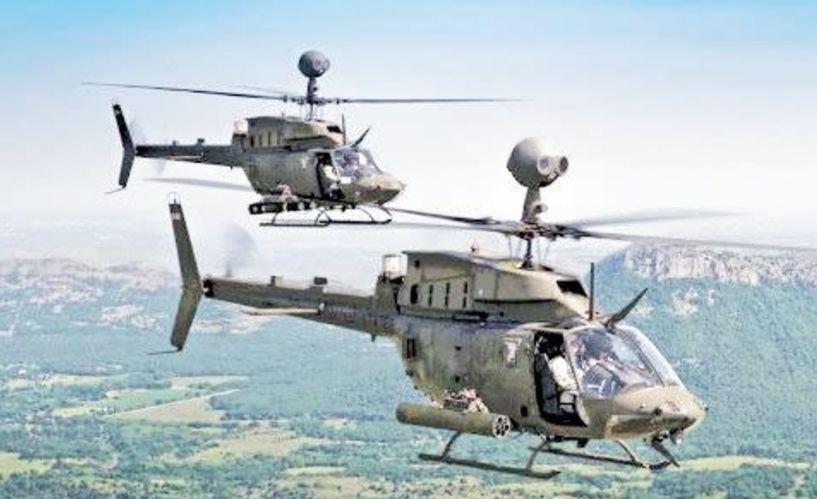 Έρχονται και στο στρατόπεδο της Αλεξάνδρειας  τα αμερικανικά ελικόπτερα Kiowa