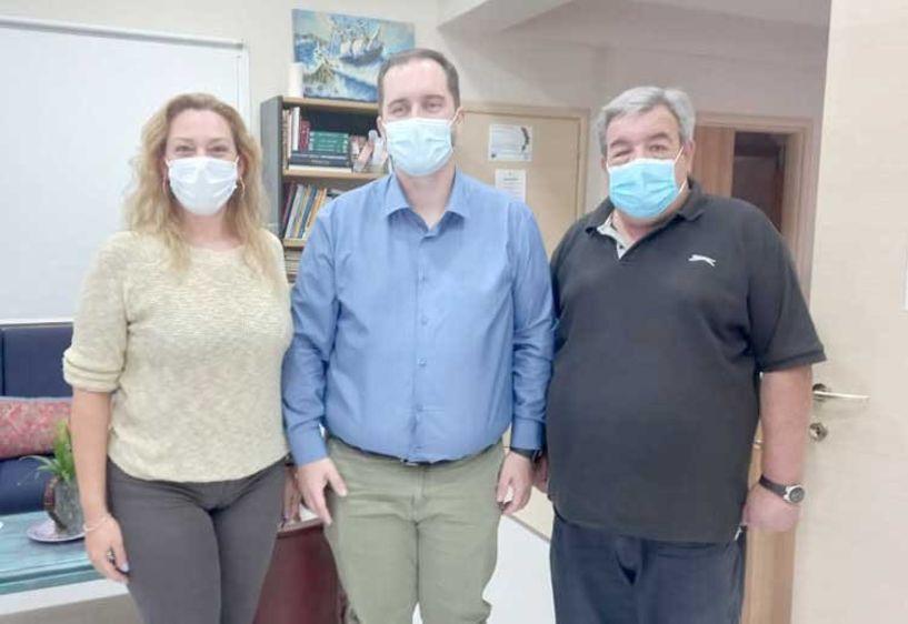 ΣΟΦΨΥ Ημαθίας: Το Κέντρο Υποστήριξης Ενηλίκων με ψυχικές διαταραχές επισκέφθηκε χθες ο πρόεδρος του ΟΚΑΝΑ