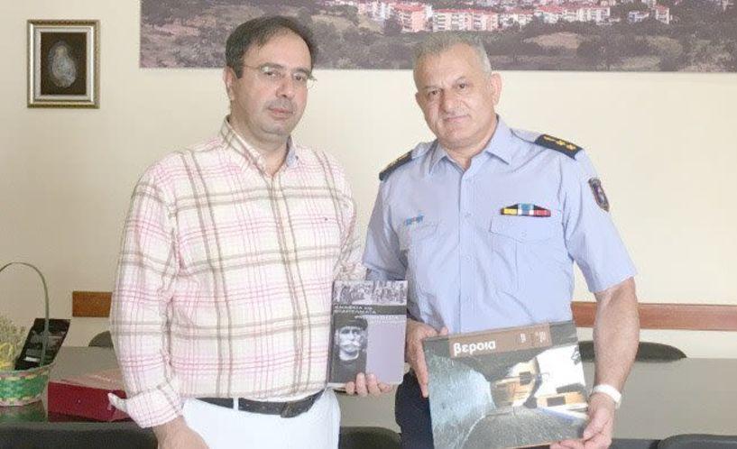 Συνάντηση του Δημάρχου Βέροιας με το νέο Διοικητή της Πυροσβεστικής Υπηρεσίας