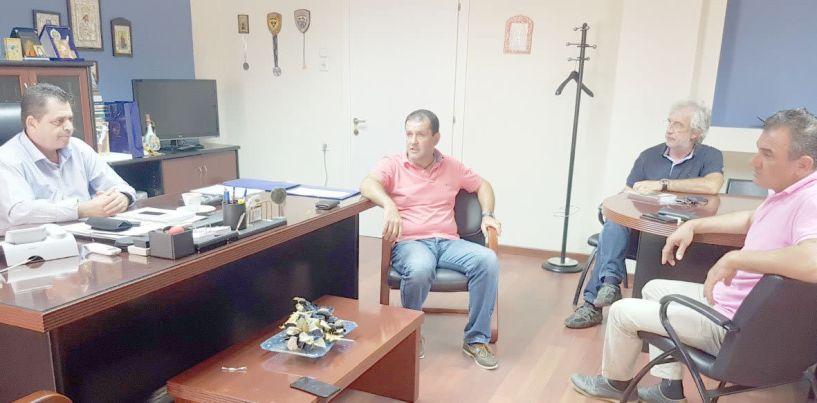 Συμπαραστάτης στη σημερινή συγκέντρωση των αγροτών στον ΕΛΓΑ Βέροιας ο αντιπεριφερειάρχης Ημαθίας
