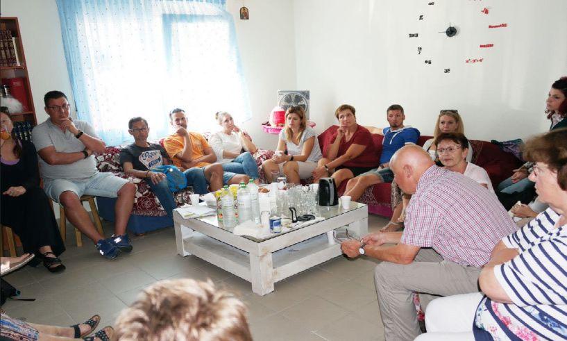 Επίσκεψη κλιμακίου από την Caritas/Irschenberg/Muenchen στο Σπίτι της Βεργίνας