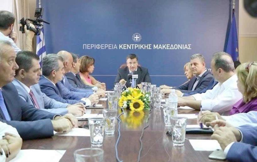 Για τους επόμενους δυο μήνες Το 50% του μισθού τους καταθέτουν οι 13 Αντιπεριφερειάρχες της Κεντρικής Μακεδονίας, για την αντιμετώπιση της πανδημίας του κορονοϊού
