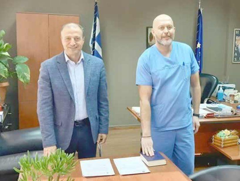 Μόνιμος γαστρεντερολόγος στο Νοσοκομείο Βέροιας