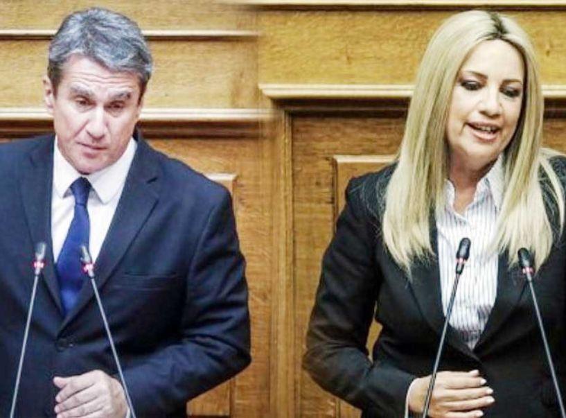H Γεννηματά «καθαίρεσε» από κοινοβουλευτικό εκπρόσωπο τον Λοβέρδο