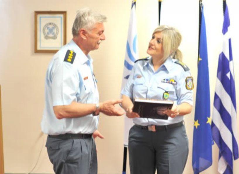 Η Διοικητής της Αστυνομικής Ακαδημίας Ταξίαρχος Αθανασία  Κορκοντζέλου επισκέφθηκε τη Σχολή Μετεκπαίδευσης Βέροιας