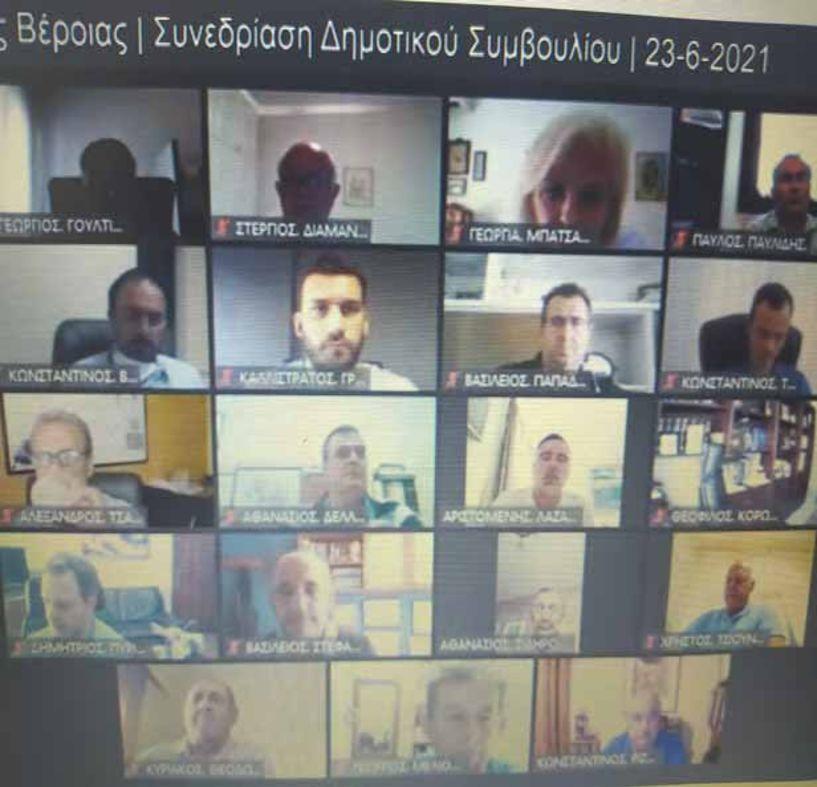 Στον απόηχο της συνέντευξης Παυλίδη το χθεσινό Δημοτικό Συμβούλιο Βέροιας  - Εκτενής, γραπτή απάντηση Βοργιαζίδη στα ΜΜΕ, την ώρα της συνεδρίασης