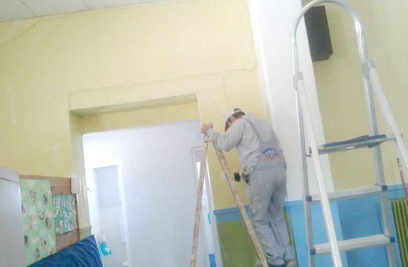 Εργασίες   συντήρησης και βελτίωσης   σχολικών κτιρίων στο Ζερβοχώρι   και τη Νάουσα