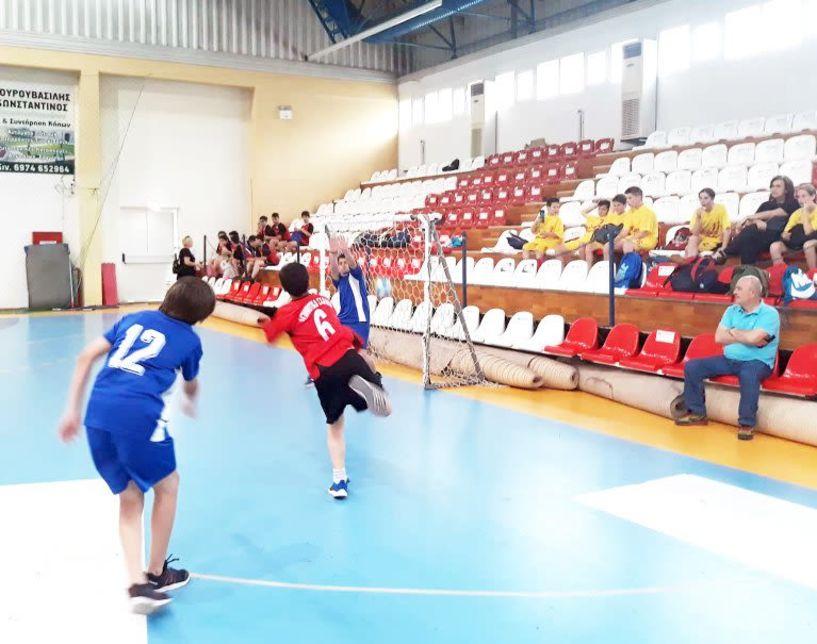 Αγώνες ΑθλοΠΑΙΔΕΙΑΣ Χειροσφαίρισης Δημοτικών Σχολείων περιοχής Βέροιας