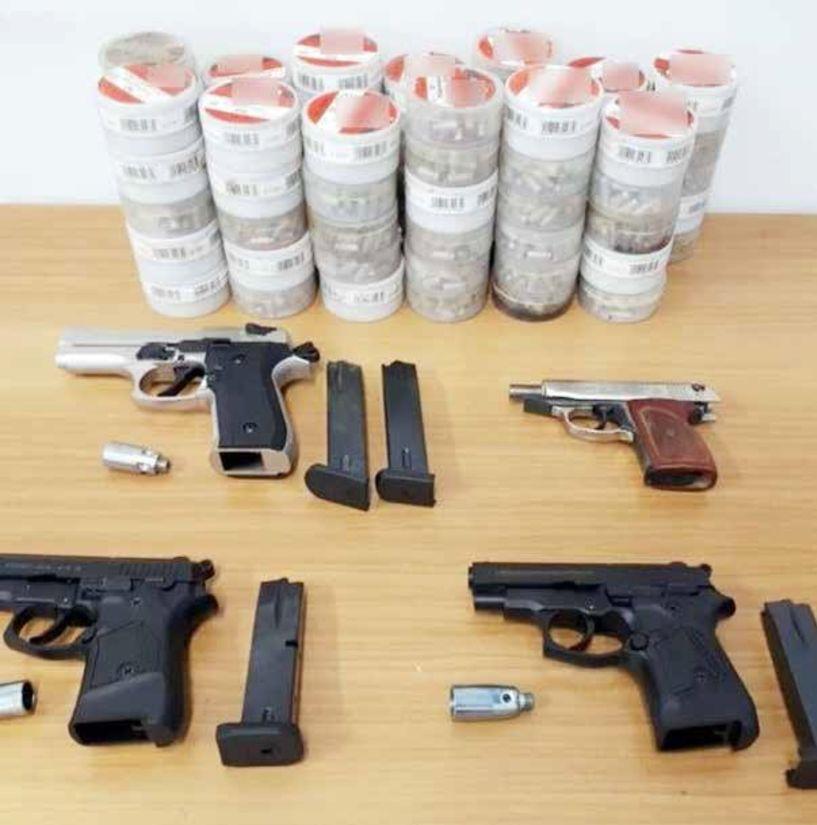 Συνελήφθησαν 21 άτομα για παράνομη κατοχή όπλων μετά από στοχευμένους ελέγχους στην Κ. Μακεδονία