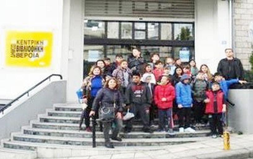 Δραστηριότητες συνεκπαίδευσης μεταξύ Ειδικού σχολείου και 8ου Δημοτικού Βέροιας