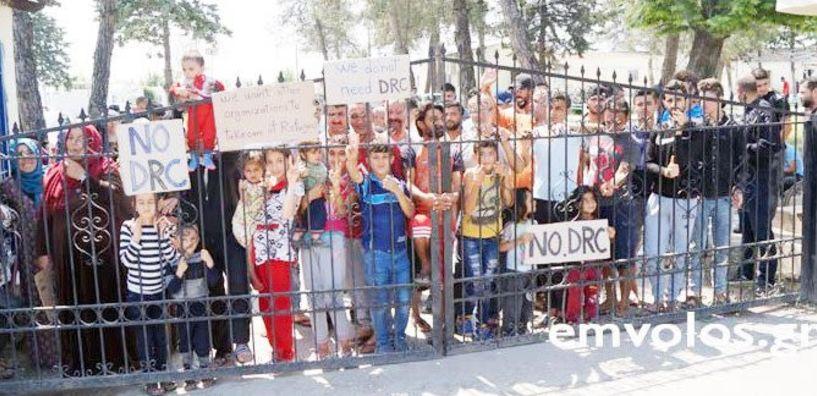 Την παλιά εθνική οδό σήμερα στην Αλεξάνδρεια  κλείνουν σήμερα οι πρόσφυγες