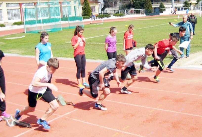 Μεγάλη συμμετοχή και αρκετά καλές επιδόσεις έγιναν οι σχολικοί αγώνες στίβου του Ν. Ημαθίας - Ονόματα διακριθέντων μαθητών-τριών